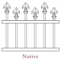 Native Pedestrian Gates